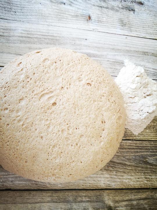 Kovaszos kenyer formazas elott