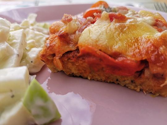 Zoldsegtesztas pizza
