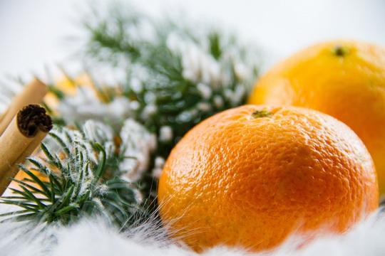 Karácsony mandarin